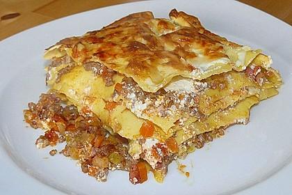 Lasagne mit Fleisch - Ragout 2