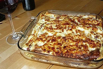 Lasagne mit Fleisch - Ragout 1