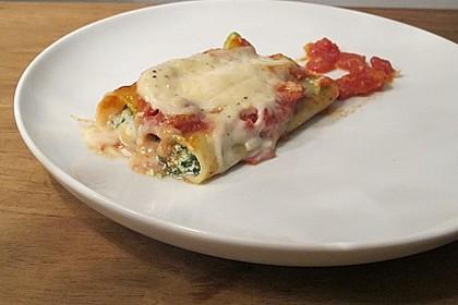 Cannelloni mit Hackfleisch - Spinatfüllung 1