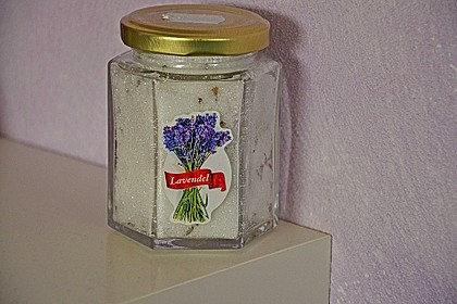 Lavendelzucker 4
