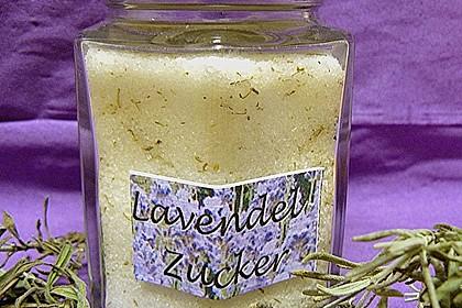 Lavendelzucker 2