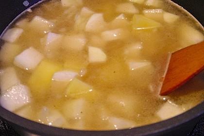 Kohlrabisuppe mit Kartoffeln 17