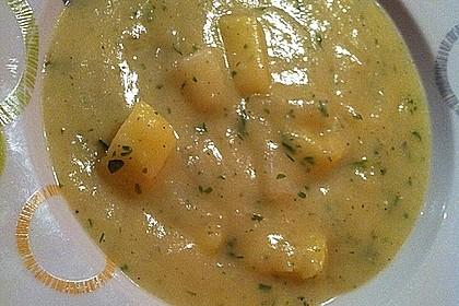 Kohlrabisuppe mit Kartoffeln 4