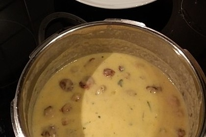 Kohlrabisuppe mit Kartoffeln 7