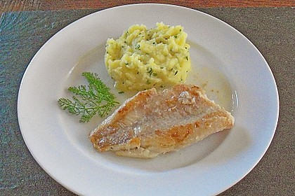 Knuspriges Rotbarschfilet