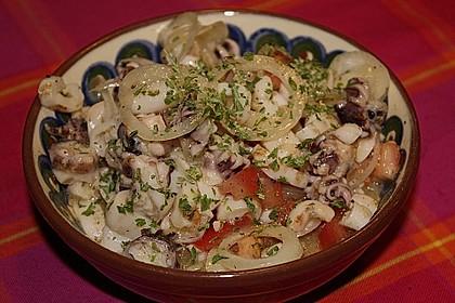 Tintenfischsalat mediterran 0