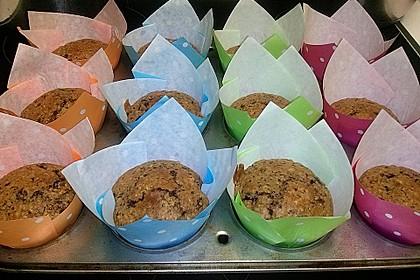 Cranberry - Schoko - Muffins 1