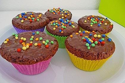 Schokomuffins mit Zartbitterschokolade 4