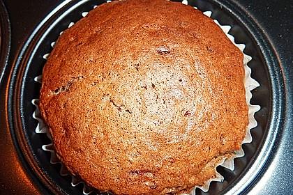Schokomuffins mit Zartbitterschokolade 7