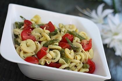 Grüne Bohnen - Nudel - Salat 1