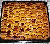 Glasierter Pflaumenkuchen (Bild)