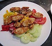 Bunt gemischter Salat