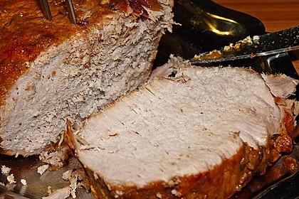 Fränkischer Schweinebraten mit dunkler Brotsoße 37