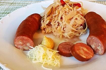 Bayrischer Krautsalat mit Speck 6