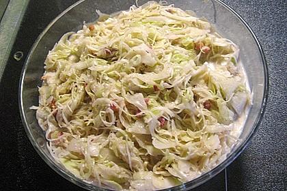 Bayrischer Krautsalat mit Speck 4