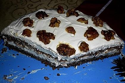Gebrannte Walnuss - Torte 3