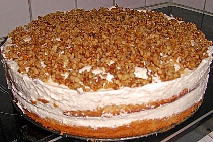 Gebrannte Walnuss - Torte 1
