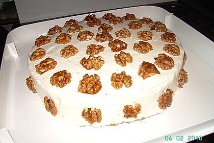 Gebrannte Walnuss - Torte 2