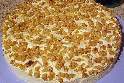 Gebrannte Walnuss - Torte 5