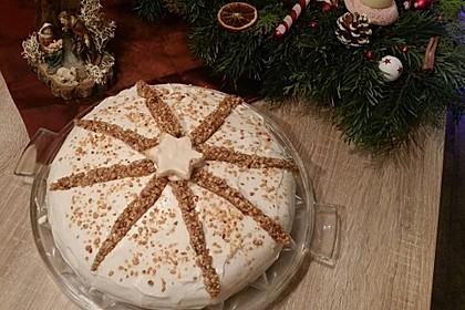 Gebrannte Walnuss - Torte