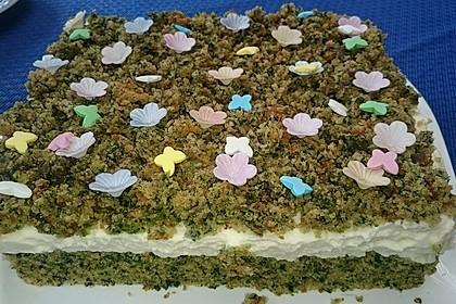 Süßer grüner Spinatkuchen 38