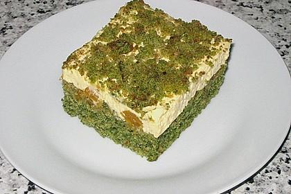 Süßer grüner Spinatkuchen 23