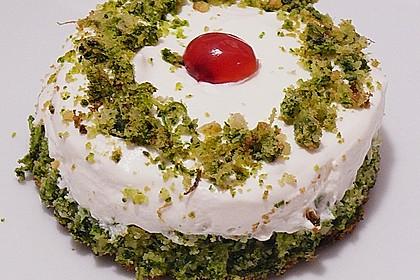 Süßer grüner Spinatkuchen 10