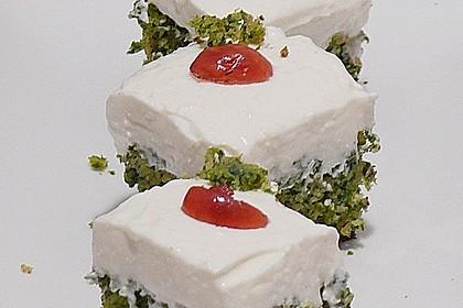 Süßer grüner Spinatkuchen 7