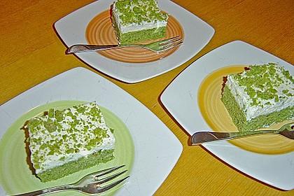 Süßer grüner Spinatkuchen 22