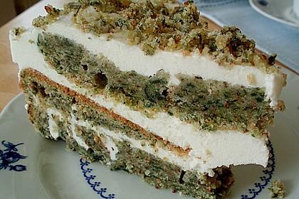 Süßer grüner Spinatkuchen 18