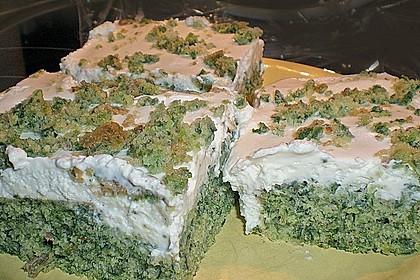 Süßer grüner Spinatkuchen 31