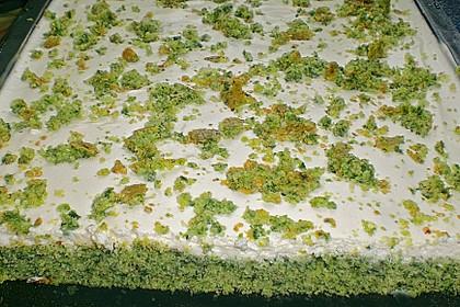 Süßer grüner Spinatkuchen 33