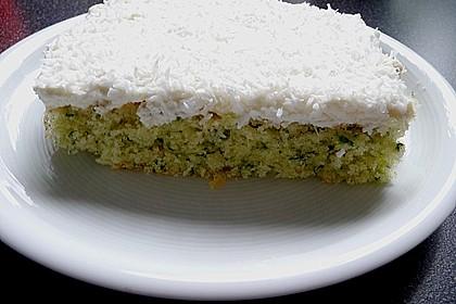 Süßer grüner Spinatkuchen 32