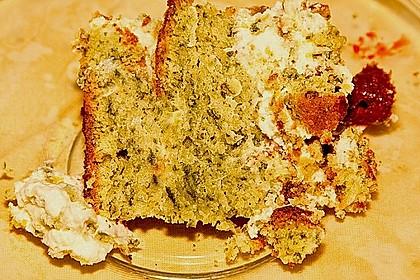Süßer grüner Spinatkuchen 51