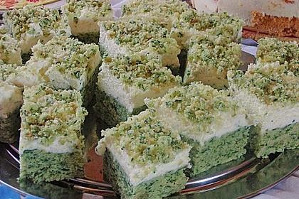 Süßer grüner Spinatkuchen 19