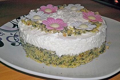 Süßer grüner Spinatkuchen 21