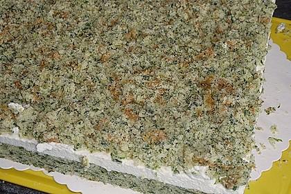 Süßer grüner Spinatkuchen 46