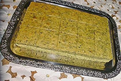 Süßer grüner Spinatkuchen 52