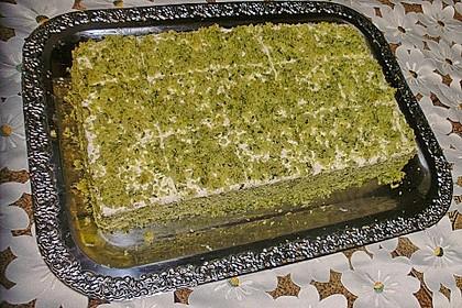 Süßer grüner Spinatkuchen 24