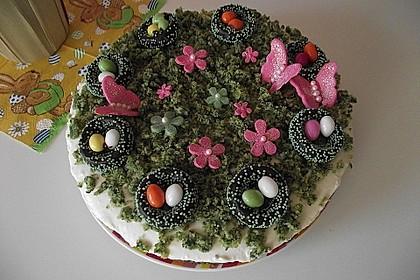 Süßer grüner Spinatkuchen 2