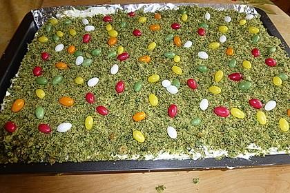Süßer grüner Spinatkuchen 34