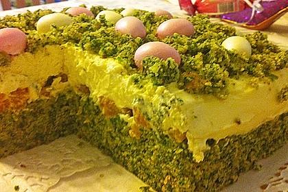 Süßer grüner Spinatkuchen 27