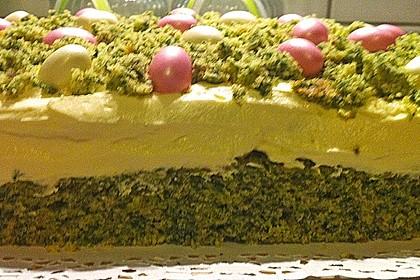 Süßer grüner Spinatkuchen 17