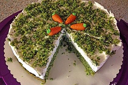 Süßer grüner Spinatkuchen 3