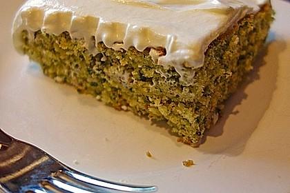 Süßer grüner Spinatkuchen 20