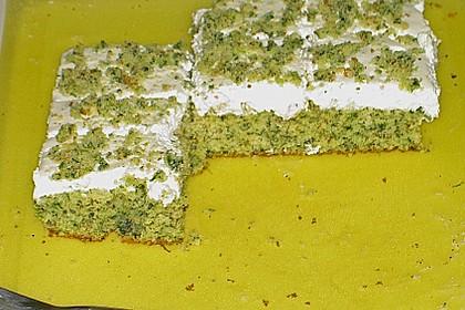 Süßer grüner Spinatkuchen 41