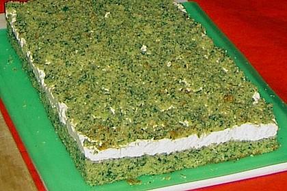 Süßer grüner Spinatkuchen 29