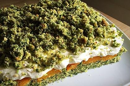 Süßer grüner Spinatkuchen 8