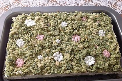 Süßer grüner Spinatkuchen 40