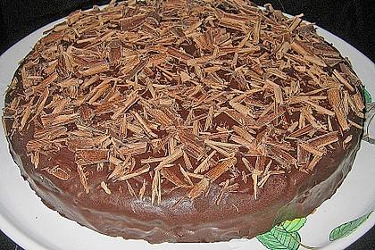 Sauerkraut - Schokoladenkuchen 2